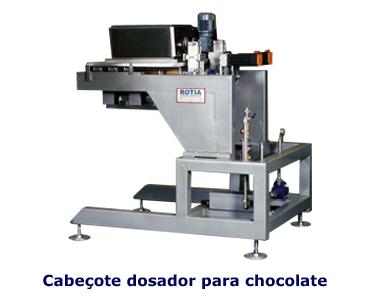 Cabeçote Dosador para Chocolate