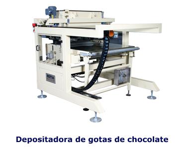 Depositadora de Gotas de Chocolate